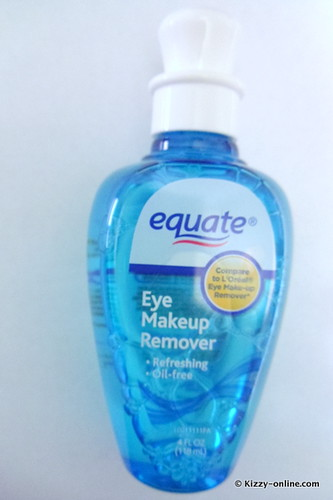 Equate makeup remover eye
