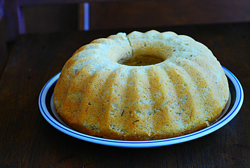 bundt cake right out of the pan