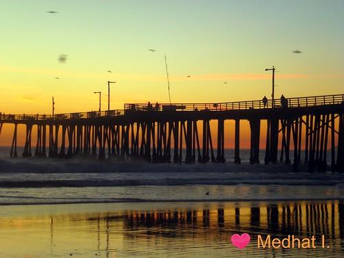 ocean sunset birds pier sand pacific medhathi mygearandme mygearandmepremium mygearandmebronze mygearandmesilver mygearandmegold mygearandmeplatinum mygearandmediamond blinkagain coastalandwaterviewsbymi
