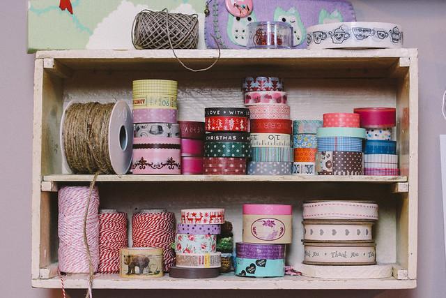 Masking Tape Cupboard