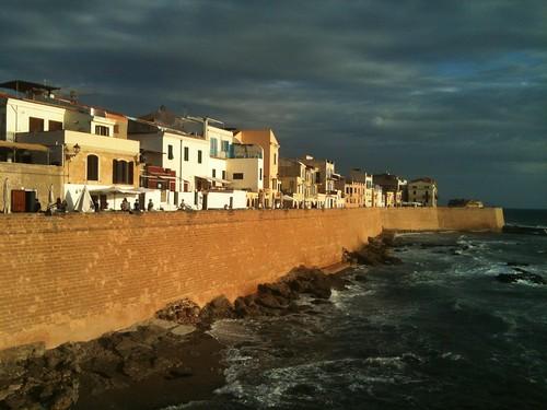 [EXPLORE] 04.11.12 #269 - Alghero - Sunset on ramparts - Tramonto sui bastioni