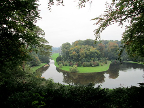 a long view, Studley Royal.