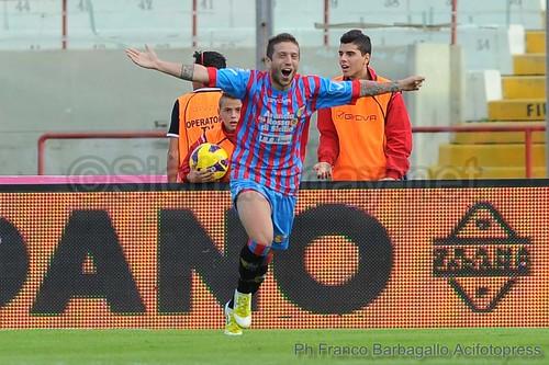 Calcio, Catania-Roma 1-0: un tempo ciascuno ma Gomez punisce la Lupa$