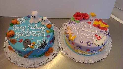 2 kids cakes by CAKE Amsterdam - Cakes by ZOBOT