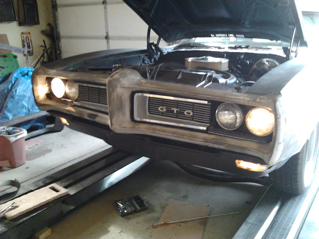 Update on my latest project - 68 GTO 8161899798_24bb7c370a_b
