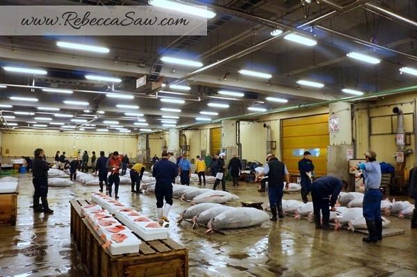 Tsukiji Market Tuna Auction - Tokyo Japan-017