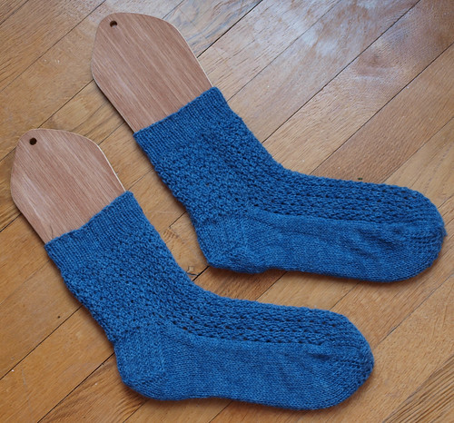 Winter Lace Socks