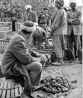 Le douar Tafraoui 1956 - Photo JP Vasse (Retina Kodak)