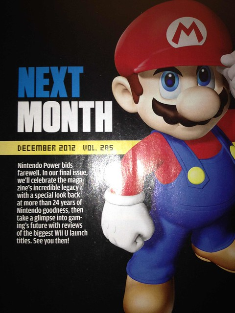 Rip Nintendo Power Magazine