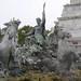 Le Triomphe de la République, Monument aux Girondins, place des Quinconces, Bordeaux, Gironde, Aquitaine, France. ©byb64