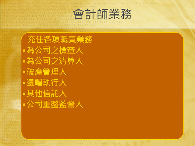 BNI長勝8分鐘分享鄭雅儷會計師20121106.008
