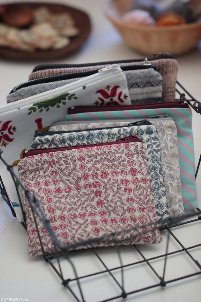zipped pouches