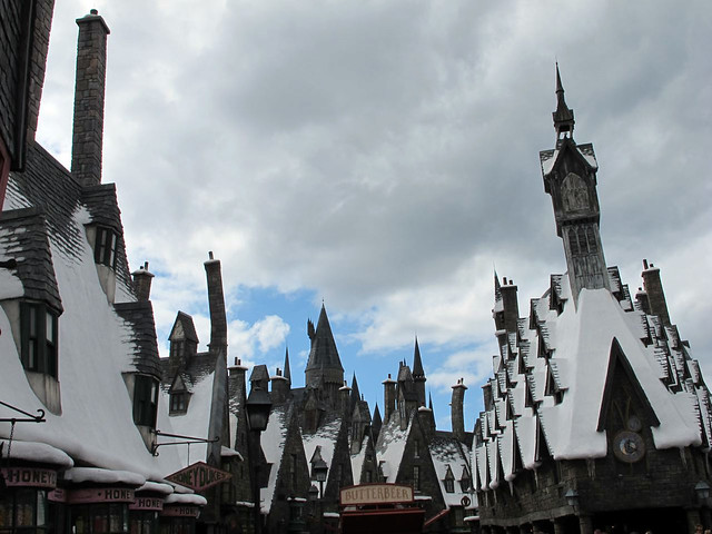 Harry Potter neighbourhood at Universal's Islands of Adventure