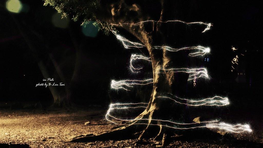 把黑夜當畫布,光影塗鴉隨便塗