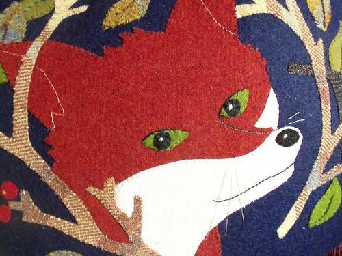 Fantastic Fox Applique
