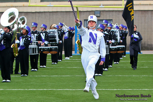 Drum Major Will Ritter