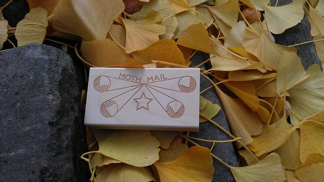 Moth Mail, cancellation stamp