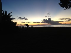 Sunset in Barbados take 2