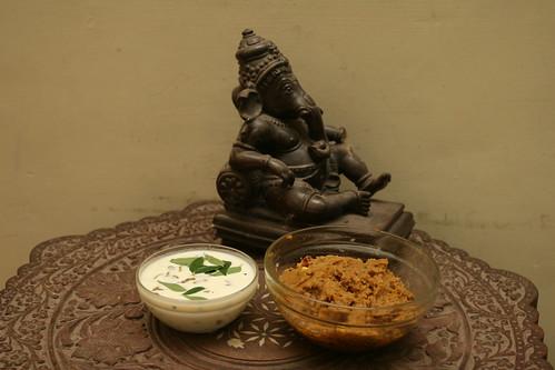 Pidi Karunai Thovayal - Yam chutney