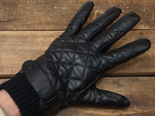 Barbour / Quilted Leather Glove