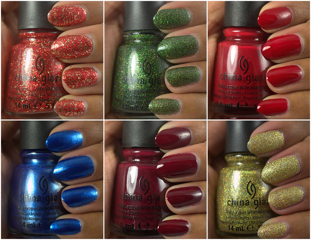 Amor de Lacquer: China Glaze Holiday Joy collection, part I
