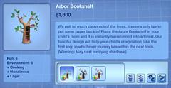 Arbor bookshelf