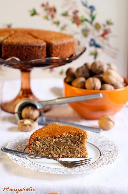 Walnut - Orange cake