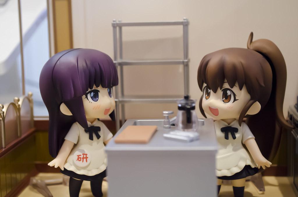 Nendoroid Aoi Yamada and Popura taneshima