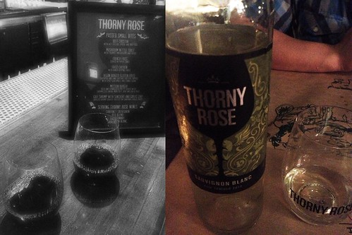Thorny Rose Wine launch event at Mission Bowling Club, SF 11/15/12