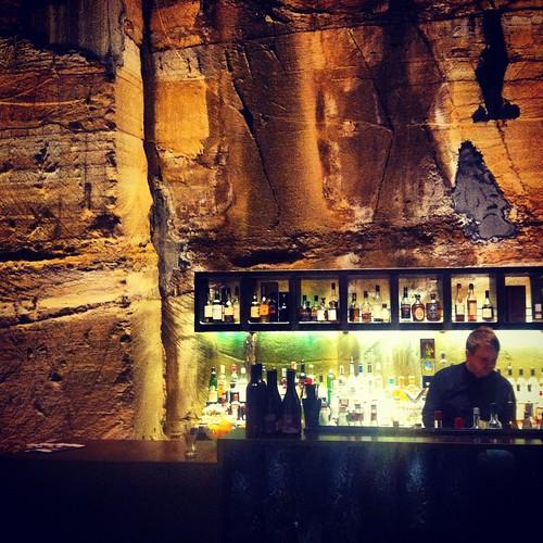 The bassment bar at MONA