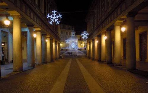 Immagine di Acqui Terme durante le feste natalizie