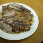 butterflied lamb with sumac