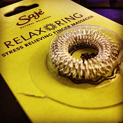 #relax #ring #finger #massage #natural #beauty #alternative #health #technology #gift from @cookies4summer ^__^