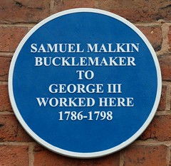 Photo of Samuel Malkin blue plaque