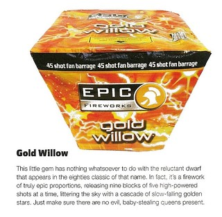 The Gold Willow review by Sorted Magazine Nov / Dec 2012