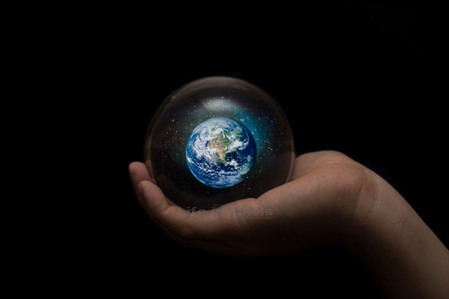 Sphere of Gaia - The future of the Earth lies in our hands - by LifeisPixels - Thanks for 400k+ views