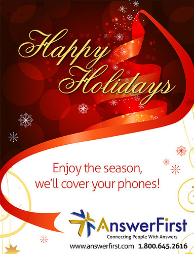 Happy Holidays from AnswerFirst by AnswerFirst