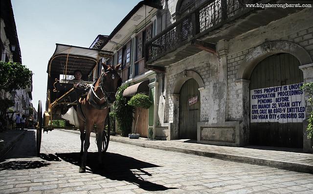 Calle Crisologo Vigan City of Ilocos Sur