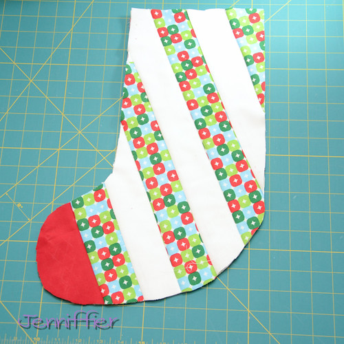 Christmas Stocking in progress