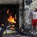 Mohamed Mahmoud clashes 2012 by Sabry Khaled