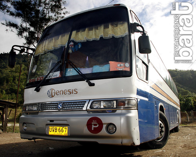 Genesis Bus Transport bound for Baler Aurora