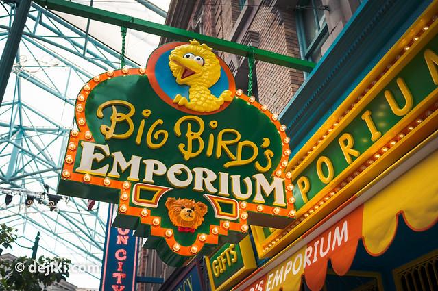 Big Bird's Emporium Sign