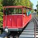 Historická pozemní lanovka Giessbachbahn z roku 1879 je nejstarší dosud provozovanou pozemní lanovkou na světě , foto: Radim Polcer