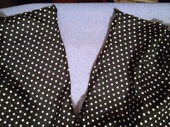 Polka Dot Top - In Progress