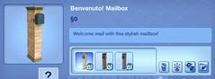 Benvenuto! Mailbox