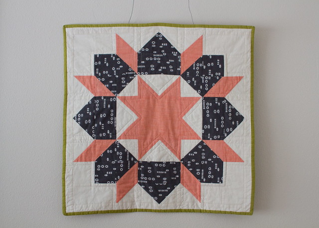 swoon mini quilt