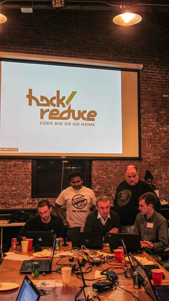 Radoop Team wins hack/reduce hackathon in Boston