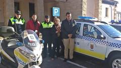 EL AYUNTAMIENTO DE CORIA RENUEVA UNO DE LOS COCHES DE LA POLICIA LOCAL