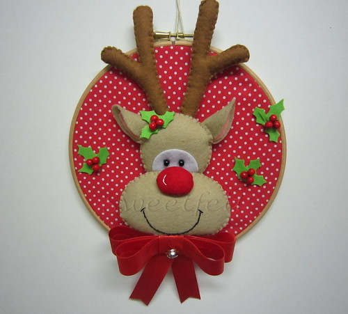 ♥♥♥ Rudolph... by sweetfelt \ ideias em feltro