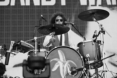 percussion, bass drum, drummer, musician, music, monochrome photography, drums, drum, monochrome, black-and-white, black, skin-head percussion instrument,